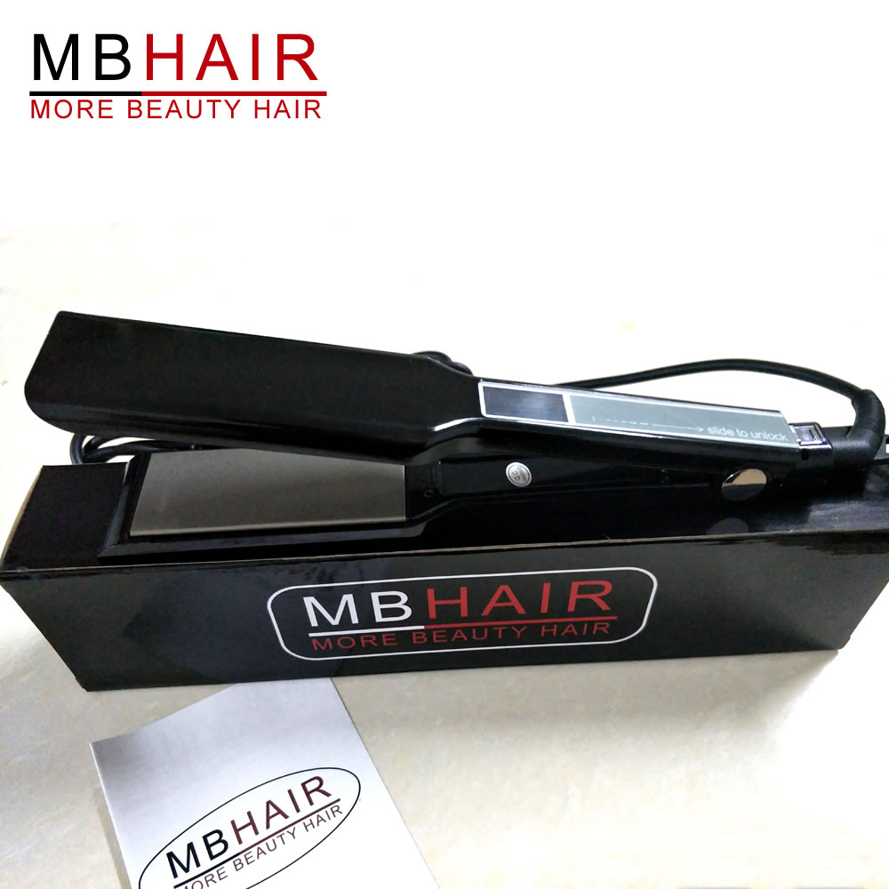 MBHAIR Nano titanium Touch hair straightener
